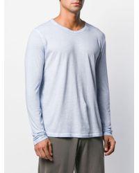 メンズ Majestic Filatures Tシャツ Blue