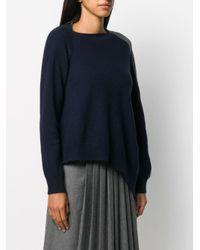 Loewe バイカラー セーター Blue