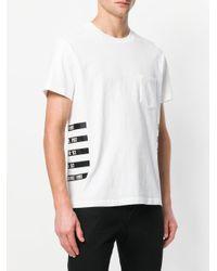 RTA - White Logo Print T-shirt for Men - Lyst