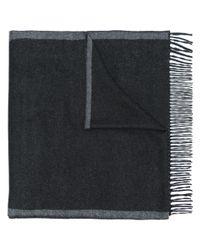 Ferragamo Gray Bi-colour Scarf for men