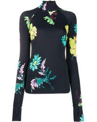 Top floral con cuello vuelto Paul Smith de color Multicolor