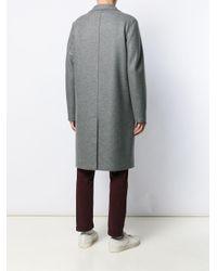 メンズ Harris Wharf London シングルコート Gray