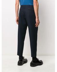 メンズ Prada テーラード パンツ Blue