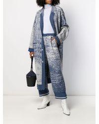 Miaoran Blue Gestrickte Hose