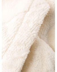 Peignoir à logo brodé Off-White c/o Virgil Abloh en coloris White