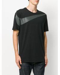 Nike Black Swoosh Logo T-shirt for men