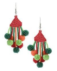 Serpui - Multicolor Beaded Earrings - Lyst