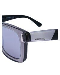 DIESEL - Black Dl0227 Sunglasses - Lyst