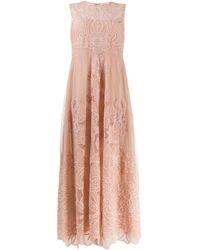 RED Valentino フローラル ドレス Pink