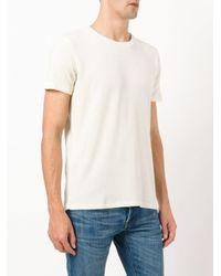 Majestic Filatures Multicolor Round Neck T-shirt for men