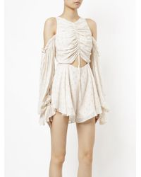 Alice McCALL Natural Did It Again Playsuit