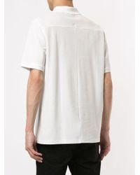 メンズ J.Lindeberg Fenton ハーフジップ ポロシャツ White