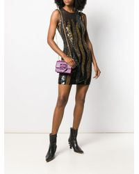 Vestito con paillettes di Just Cavalli in Black