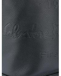 Рюкзак С Одной Лямкой Ferragamo для него, цвет: Black
