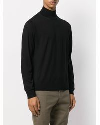Pull à col roulé PS by Paul Smith pour homme en coloris Black