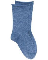 Носки Тонкой Вязки Brunello Cucinelli, цвет: Blue