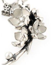 Shaun Leane Metallic 'cherry Blossom' Diamond Necklace