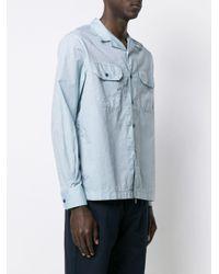 East Harbour Surplus Hemd mit Brusttaschen in Blue für Herren