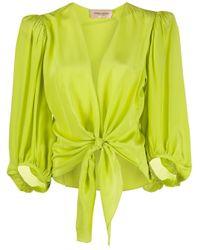 Camicia Colourful Flower di Adriana Degreas in Yellow