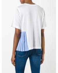 Erika Cavallini Semi Couture White Ollie T-shirt