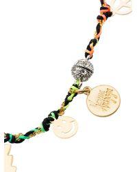 Venessa Arizaga - Multicolor Peace Charm Bracelet - Lyst
