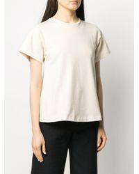 Totême  Multicolor Crew Neck Cotton T-shirt