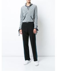 Opening Ceremony - Gray Track Jacket - Lyst