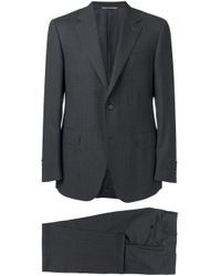 Canali Black Two Piece Suit for men