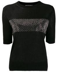 Ermanno Scervino デコラティブ Tシャツ Black