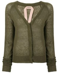 N°21 Green Fitted Cardigan