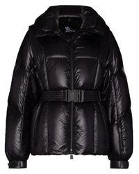 3 MONCLER GRENOBLE Black Grossaix Hooded Down Ski Jacket