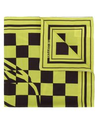 Tim Coppens - Green Lion Checked Bandana - Lyst