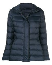 Peuterey - Blue Concealed Front Padded Jacket - Lyst