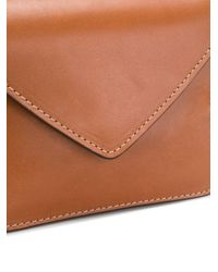 Holland & Holland フラップ クロスボディバッグ Brown
