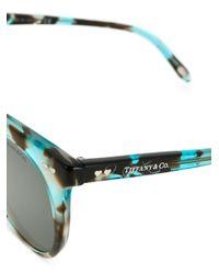 Tiffany & Co Blue Occhiali Da Sole Cat-eye