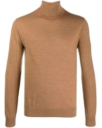 PS by Paul Smith Klassischer Rollkragenpullover in Brown für Herren