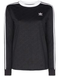 Adidas Originals ロングtシャツ Black