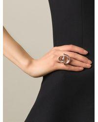 Lara Bohinc Gray 'planetaria' Ring