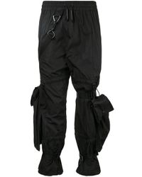 A_COLD_WALL* Black Double Tie Trousers for men