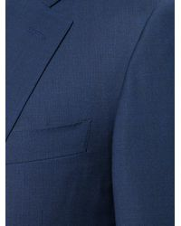 Canali - Blue Classic Two-piece Suit for Men - Lyst