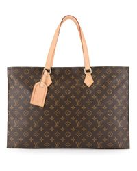 Сумка-тоут С Монограммой Pre-owned Louis Vuitton, цвет: Brown