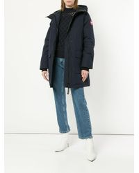 Canada Goose Canmore パーカーコート Blue