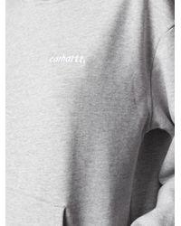 Carhartt WIP ロゴ パーカー Gray