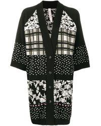 Cardigan con design patchwork di Antonio Marras in Black