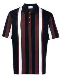 メンズ Ferragamo ストライプ ポロシャツ Multicolor