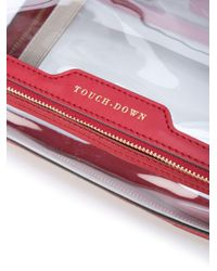 Anya Hindmarch Touch Down コスメポーチ Red