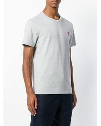 Camiseta Ami De Coeur AMI de hombre de color Gray