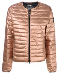 Ecoalf Multicolor Collarless Puffer Jacket