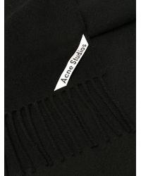 Acne Canada Nr New スカーフ Black