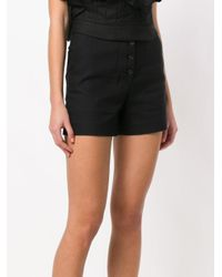 Proenza Schouler - Black Classic Fitted Shorts - Lyst